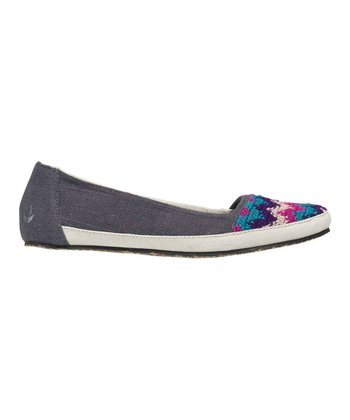 Charcoal Costa Capri Bella Costa Flat - Women