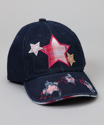 Navy Star Baseball Cap