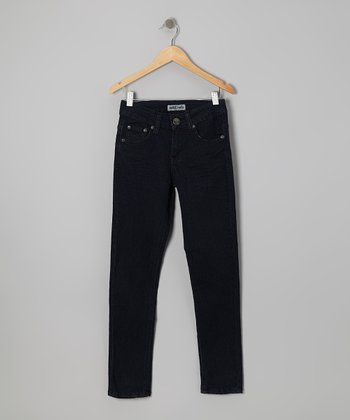 Medium Wash Skinny Jeans - Boys