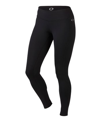 Jet Black Speed Burst Tights