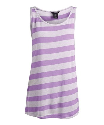 Chrome Purple Work It Out Tank
