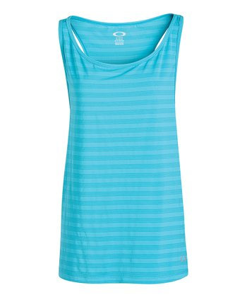 Bright Aqua Muscle Girl Tank
