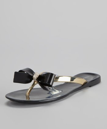 Black Paris Flip-Flop