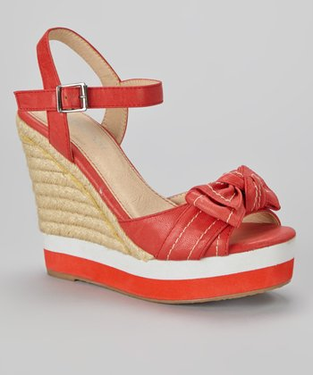 Red Demi Espadrille