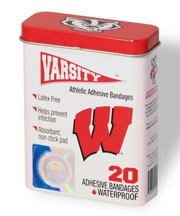 Wisconsin Badgers Logo Bandage Set