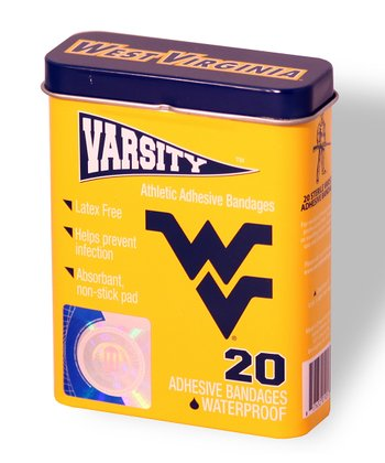 West Virginia Mountaineers Logo Bandage Set