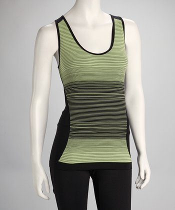Black & Green Apple Space-Dye Tank