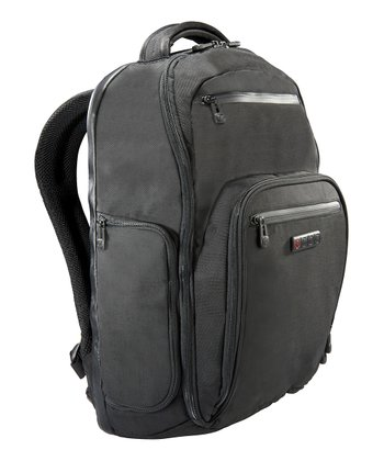 Black Hercules Laptop Backpack