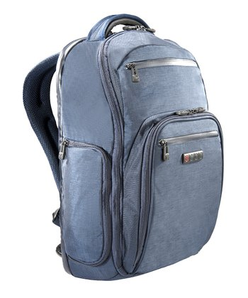 Blue Hercules Laptop Backpack