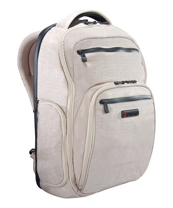 Linen Hercules Laptop Backpack