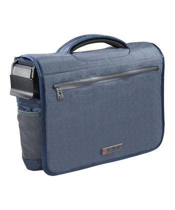 Blue Zeus Messenger Bag