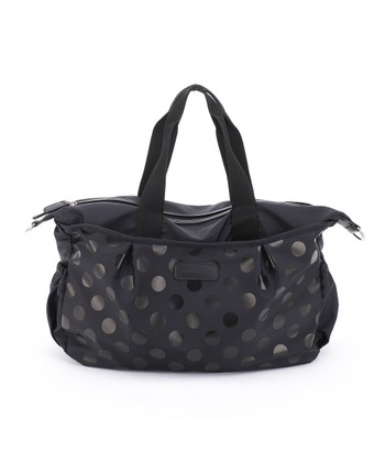 Black Olivia Tote Diaper Bag