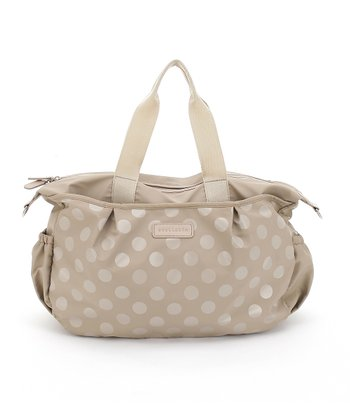 Cream Olivia Tote Diaper Bag