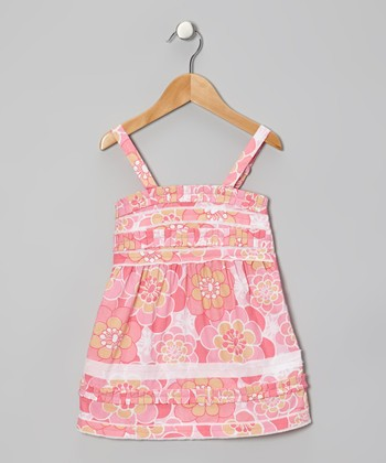 Pink Floral Violet Dress - Infant & Toddler