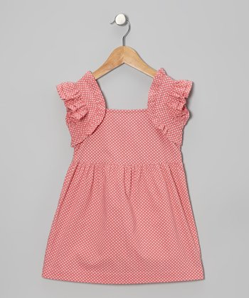 Pink Polka Dot Madeline Dress - Infant & Toddler