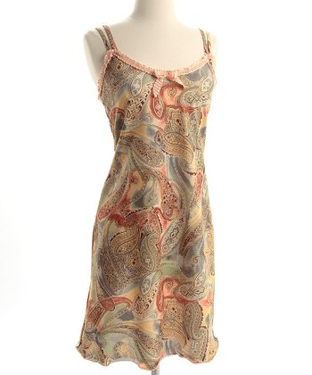 Paisley Baroque Madison Nursing Dress