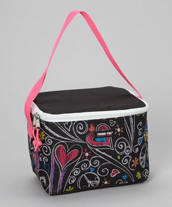 Black Peace Lunch Bag
