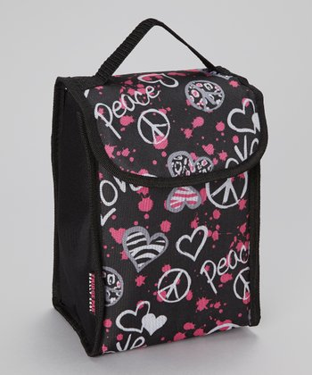 Peace Roll-Down Lunch Bag