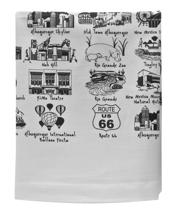 Albuquerque Tea Towel