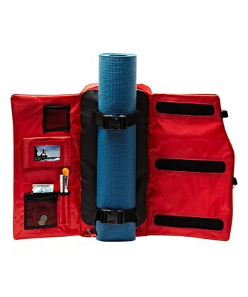 Red Yoga Backpack
