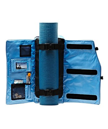 Glacier Blue Yoga Backpack