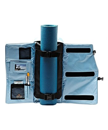 Sky Blue Yoga Backpack