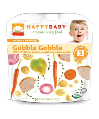 Stage 3 Gobble Gobble Organic Hearty Meal Pouch - Set of 16
