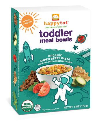 Super-Beefy Pasta Organic Meal Bowl - Set of 12