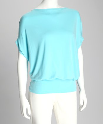 Aqua Kiara Dolman Top - Women