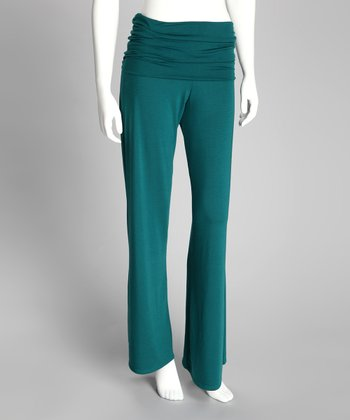 Evergreen Palazzo Pants - Women
