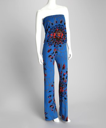 Blue Martini Erika Strapless Jumpsuit - Women