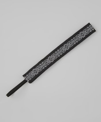 Black & White Tranquility Headband