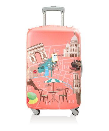 Paris Luggage Cover