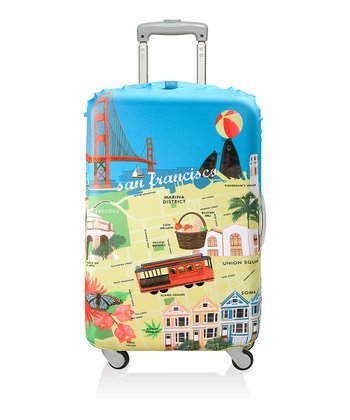 San Francisco Luggage Cover