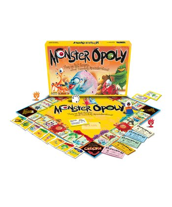 MONSTER-opoly Board Game