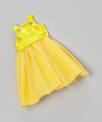 Yellow Doll Outfit