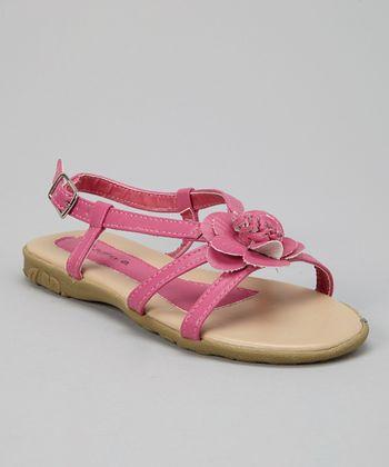 Fuchsia Blossom Sandal