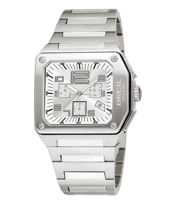 Silver Logo Chronograph Watch - Women & Men