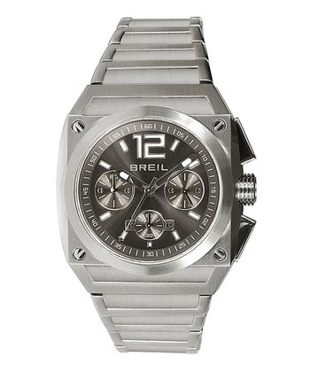 Silver Gear Chronograph Watch - Women & Men