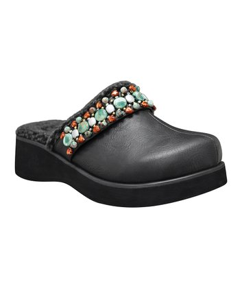 Black Christie Clog