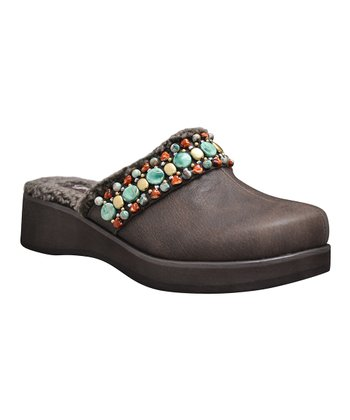 Brown Christie Clog