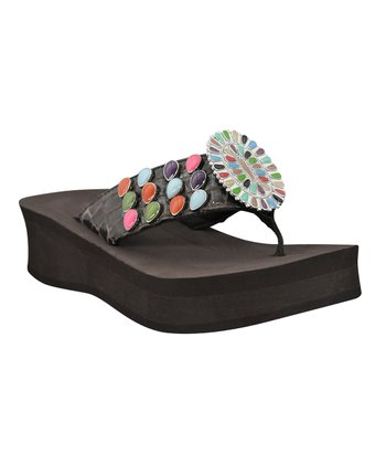 Brown Santi 2 Wedge Sandal - Women