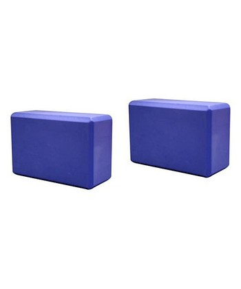 Purple Yoga Block - Set of Two
