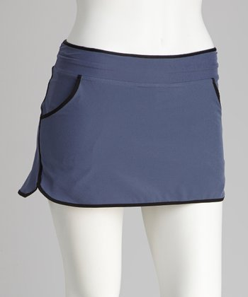 Zella Gray Break Back Skort