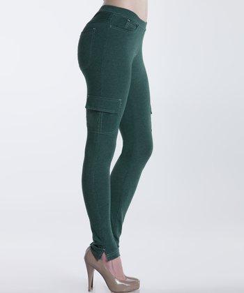 lur® Moss Spruce Jeggings - Women