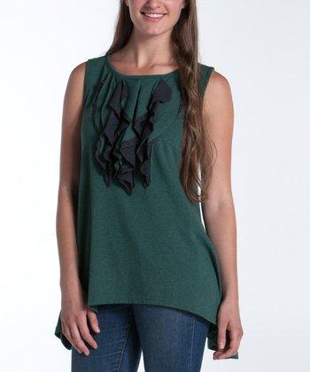 lur® Moss & Black Iris Tank - Women