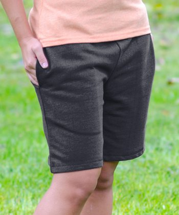 Charcoal Bermuda Shorts