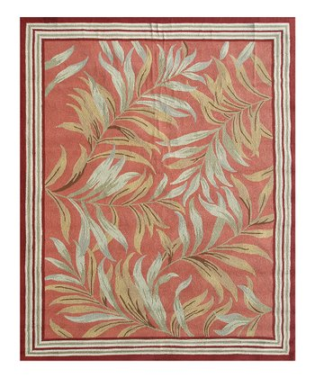 Cream & Green Zuma Indoor/Outdoor Rug