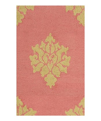Persimmon & Gold Aurora Indoor/Outdoor Rug
