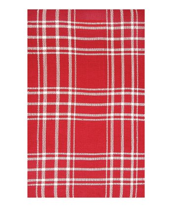 Red & Ivory Kelton Indoor/Outdoor Rug